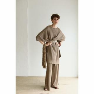 TODAYFUL - T01320/TODAYFUL Linen Knit Pants MC36