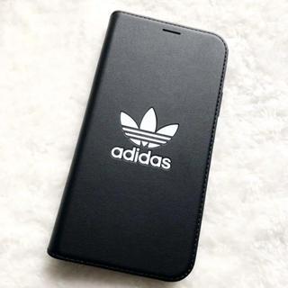 アディダス(adidas)の新品(*^^*)‼︎ adidas iphoneXケース 見開き カード入れあり(iPhoneケース)