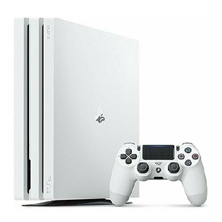 プレイステーション4(PlayStation4)のPS4 Pro グレイシャー・ホワイト 1TB (CUH-7100BB02)  (家庭用ゲーム本体)
