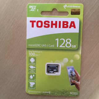 東芝 - 東芝 TOSHIBA マイクロSD 128GB 最大転送速度100MB/s
