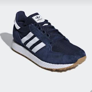 adidas - 新品 adidas Forest grove ネイビー