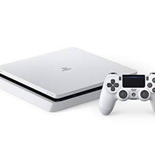 PlayStation 4 本体 グレイシャー・ホワイト 500GB(家庭用ゲーム機本体)