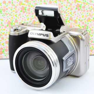 ✨Wifiでスマホに転送 &本格レンズ付きカメラ✨オリンパス SP-800UZ(コンパクトデジタルカメラ)