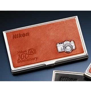 ニコン(Nikon)の【ニコン】新品☆100周年記念SDカードケース(オレンジ、NikonF)(ケース/バッグ)