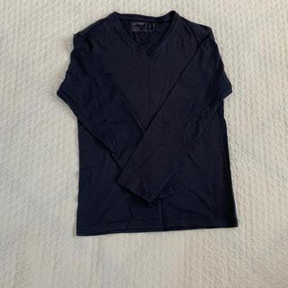ジーユー(GU)のネイビー ロンT(Tシャツ(長袖/七分))