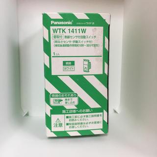 パナソニック WTK1411W 熱線センサ付自動スイッチ(その他)