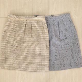MISCH MASCH - ミッシュ スカート2枚セット