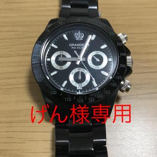 GRANDEURグランドール クロノグラフ 腕時計(腕時計(アナログ))