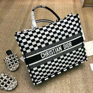 クリスチャンディオール(Christian Dior)の再出品!😘人気品 本物 DIOR トートバッグ(トートバッグ)