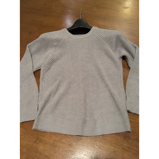 トピックラックス(topic luxe)のトピック セーター グレー(ニット/セーター)