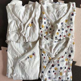 ニシマツヤ(西松屋)の新生児肌着 4枚セット(肌着/下着)