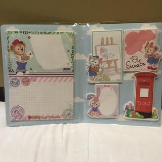 Disney - 日本未発売 上海 ディズニー シェリーメイ ダッフィー  メモ 付箋