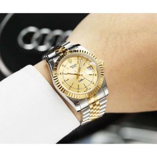ロレックス(ROLEX)の ROLEX ロレックス 16233G デイトジャスト 10Pダイヤモンド 腕時(金属ベルト)