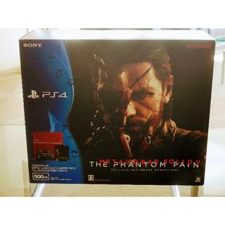 プレイステーション4(PlayStation4)のSALE PS4本体 MGS5 メタルギアソリッド5限定仕様 箱つき 付属品完備(家庭用ゲーム本体)