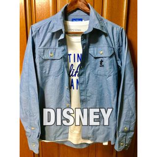 ディズニー(Disney)のDISNEY ダンガリーシャツ ディズニー デニムシャツ(シャツ)