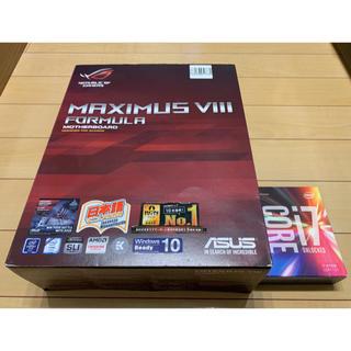 エイスース(ASUS)のCore i7 6700K+ASUS MAXIMUS VⅢ FORMULA(PCパーツ)