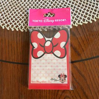 ディズニー(Disney)の東京ディズニーリゾート メモパッド♡(ノート/メモ帳/ふせん)