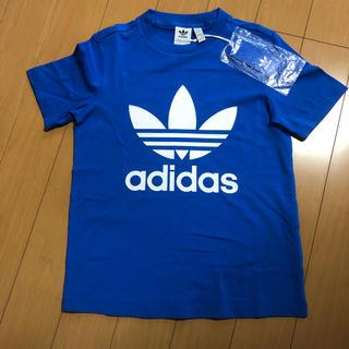アディダス(adidas)の新品  アディダスTシャツ    ブルー  Mサイズ(トレーニング用品)