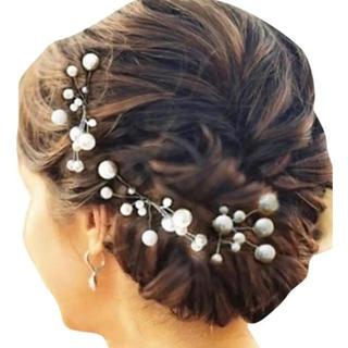 髪飾り パールかんざし パールヘアピン(ヘアピン)