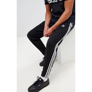 アディダス(adidas)の【Lサイズ】新品タグ付 adidas  3ストライプ スウェットパンツ ブラック(その他)