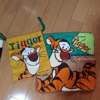 Disney - Tigger  バンドタオル&巾着