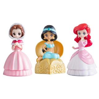 Disney - 【全3種セット】ガチャ プリンセス ヒロインドール ジャスミン ベル アリエル