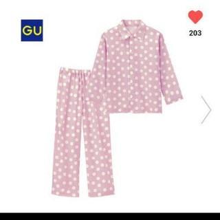 ジーユー(GU)の新品タグつきguパジャマ140センチ(パジャマ)