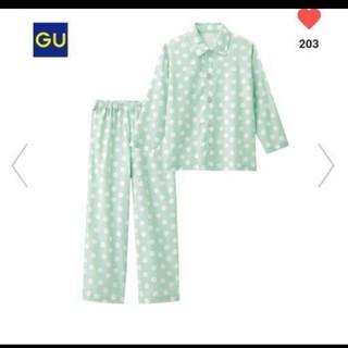 ジーユー(GU)の新品タグつきGUパジャマ150センチ(パジャマ)