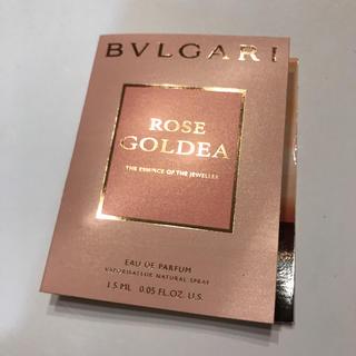 ブルガリ(BVLGARI)のBVLGARI ブルガリ ローズ ゴルデア オードパルファム 1.5ml(香水(女性用))