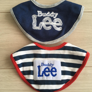リー(Lee)のLee スタイ 2枚セット(ベビースタイ/よだれかけ)
