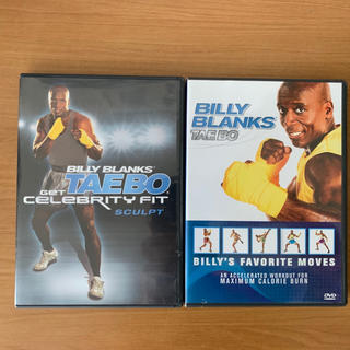 ビリーブランクス タエボー DVD 2枚  【中古】(スポーツ/フィットネス)