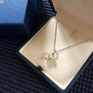 MIKIMOTO - ミキモト   MIKIMOTO ダイヤモンド K18 ネックレス