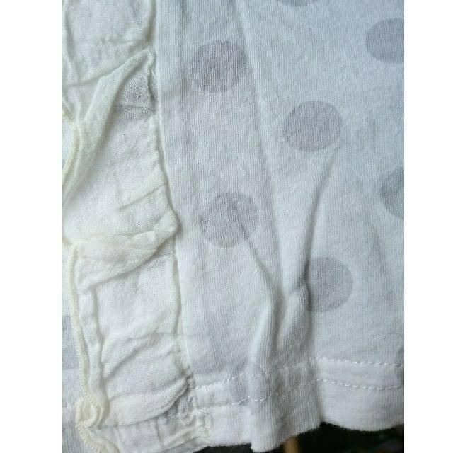 t/mini(ターカーミニ)のきゃしーさま専用 ドット フリル Tシャツ 80  キッズ/ベビー/マタニティのベビー服(~85cm)(Tシャツ)の商品写真