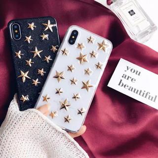 iPhoneケース★スターデザイン携帯ケース 星(iPhoneケース)
