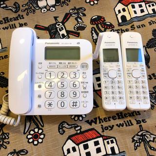パナソニック(Panasonic)のPanasonic 固定電話機 ☆子機2台付き☆(OA機器)