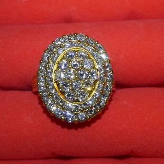 豪華すぎる!2カラットダイヤモンドリング(リング(指輪))