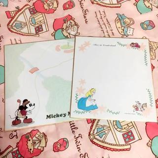 Disney - ディズニー色紙 セット 新品、未使用 ミッキー アリス