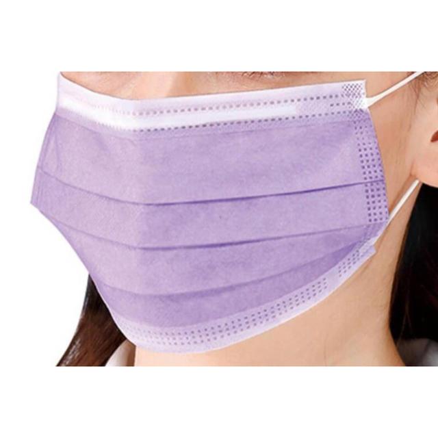 花粉 症 マスク 通販 100枚 - 枚数増量‼︎セーフマスク プレミア 紫 トレース 30枚の通販 by アロマウス