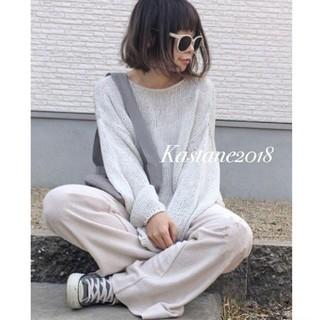 Kastane - 新品♡カットストレートパンツ