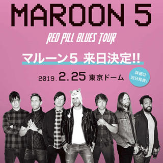 Maroon5 THE RED RILL BLUES TOUR(海外アーティスト)