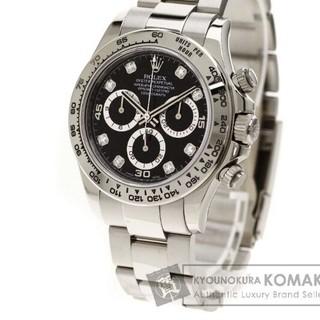 ROLEX  コスモグラフ・デイトナ 腕時計 ホワイトゴールド  メンズ 中古(腕時計(アナログ))