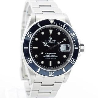 ロレックス(ROLEX)のロレックス サブマリーナ メンズ ROLEX SUBMARINER中古腕時計(腕時計(アナログ))
