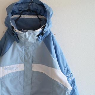 コロンビア(Columbia)のUS コロンビア 水色 マウンテン ジャケット ウェアー WS(ウエア)