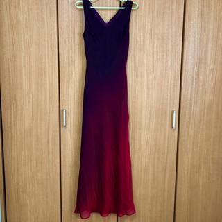 セラビ(C'EST LA VIE)のロングドレス 赤(ロングドレス)