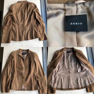 アクリス(AKRIS)のアクリス ジャケット 一度着用 美品 難なし フランスサイズ34(テーラードジャケット)
