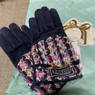 AfternoonTea - 【新品】Afternoon tea LINTON ツイード 手袋