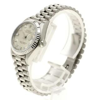 ロレックス(ROLEX)のROLEX  デイトジャスト  腕時計ホワイトゴールドレディース 中古(腕時計)