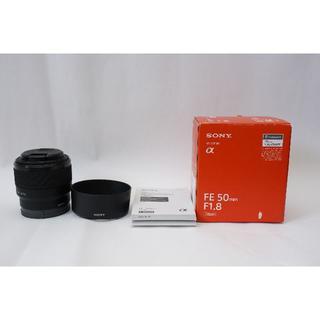 ソニー(SONY)のSONY ソニー SEL50mm F1.8 SEL50F18 美品(レンズ(単焦点))