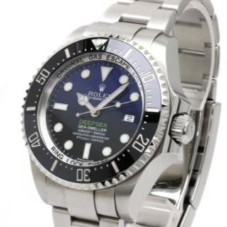 ロレックス(ROLEX)のROLEXロレックス ディープシー 腕時計ステンレススチールメンズ 中古(腕時計(アナログ))