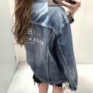 バレンシアガ(Balenciaga)の超美品 BALENCIAGA デニムジャケットサイズL (Gジャン/デニムジャケット)